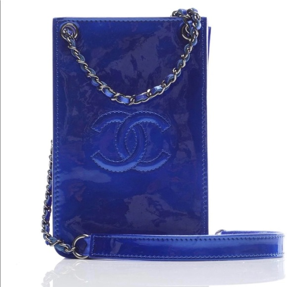 13fb514508966b CHANEL Bags | Crossbody O Phone Case Royal Blue | Poshmark
